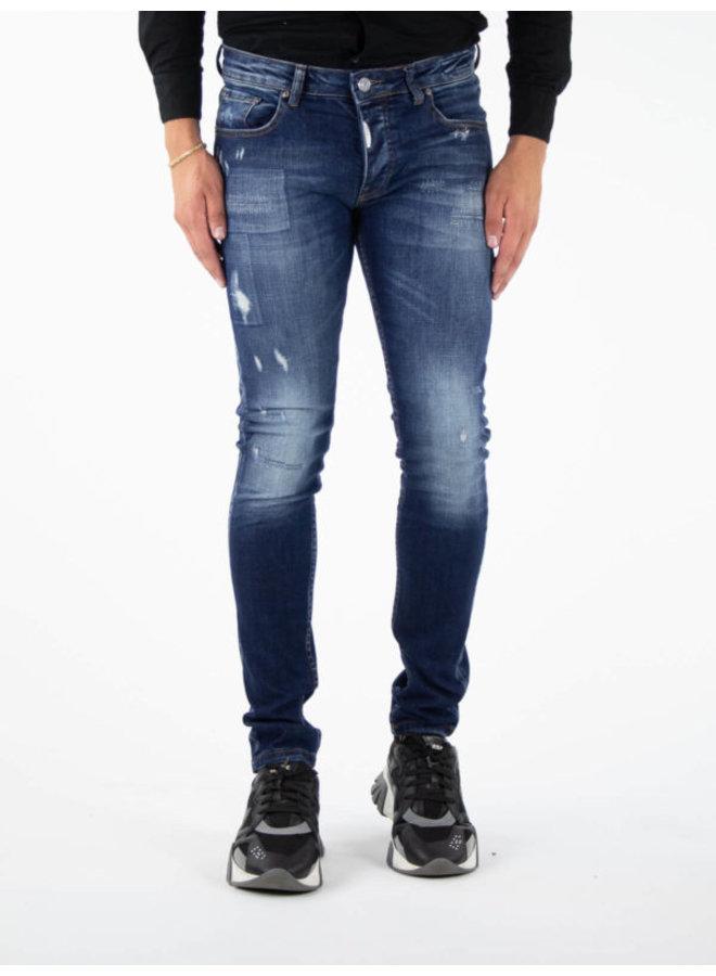 Sorrento Skinny Fit Jeans Blue