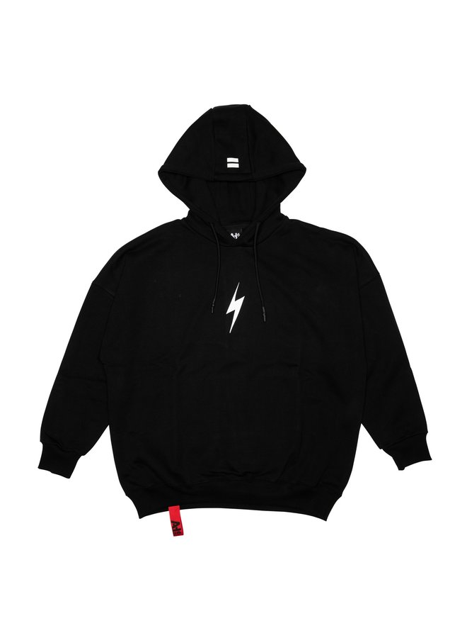 Lightning Bolt Hoodie Black