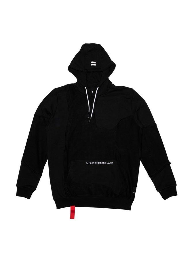 Inside Out Hood Black