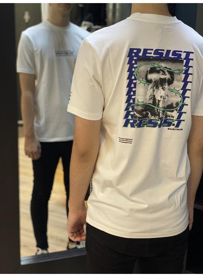 Resist Regular T-Shirt White
