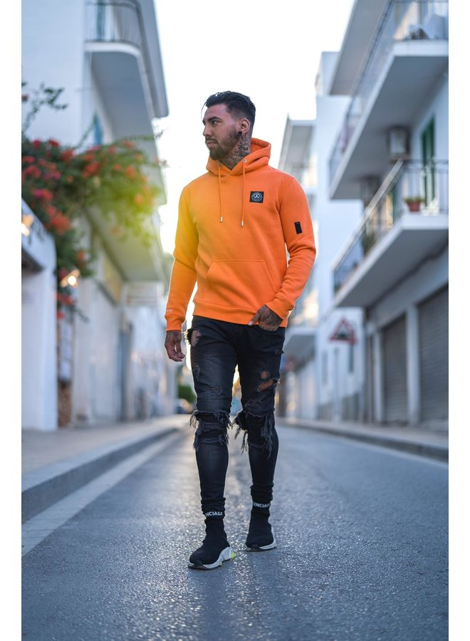 Commodore Hoodie Orange