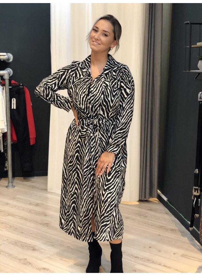 Max Dress Zebra