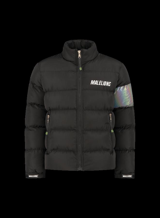 Malelions Reflective Puffer Black