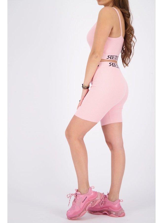 Laila Biker Short Baby Pink