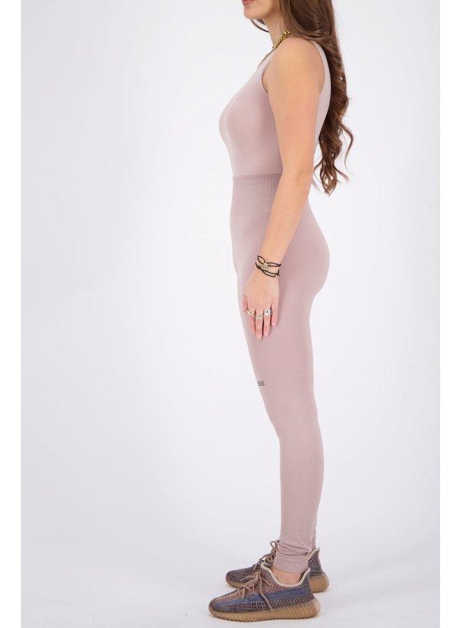 Sport Legging Long Mauve