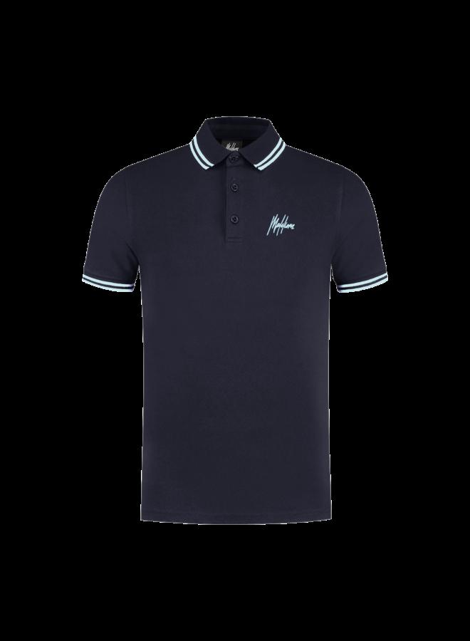 Din Polo Navy/Light Blue