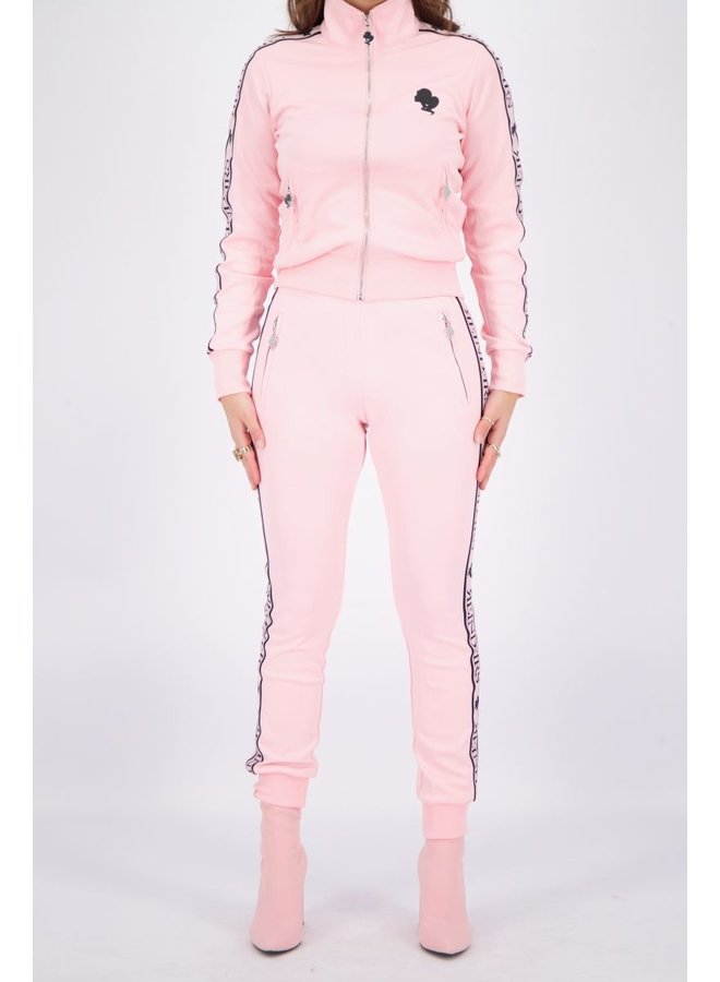 Tracking Pants Baby Pink