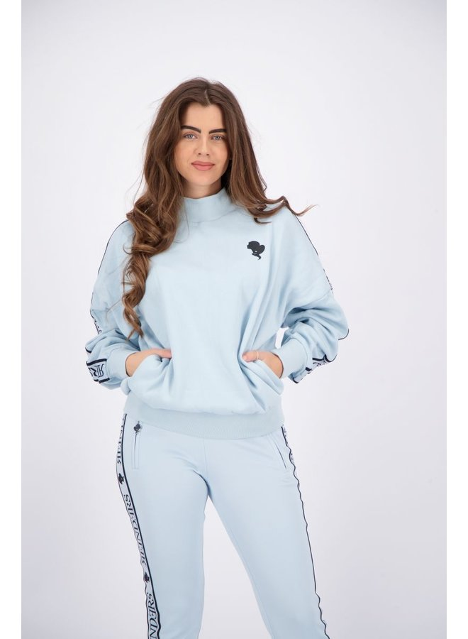 Tracking Sweater Baby Blue