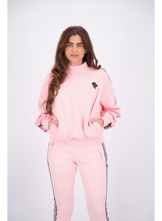 Tracking Sweater Baby Pink