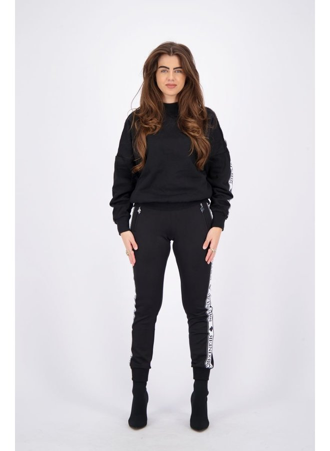 Tracking Pants True Black