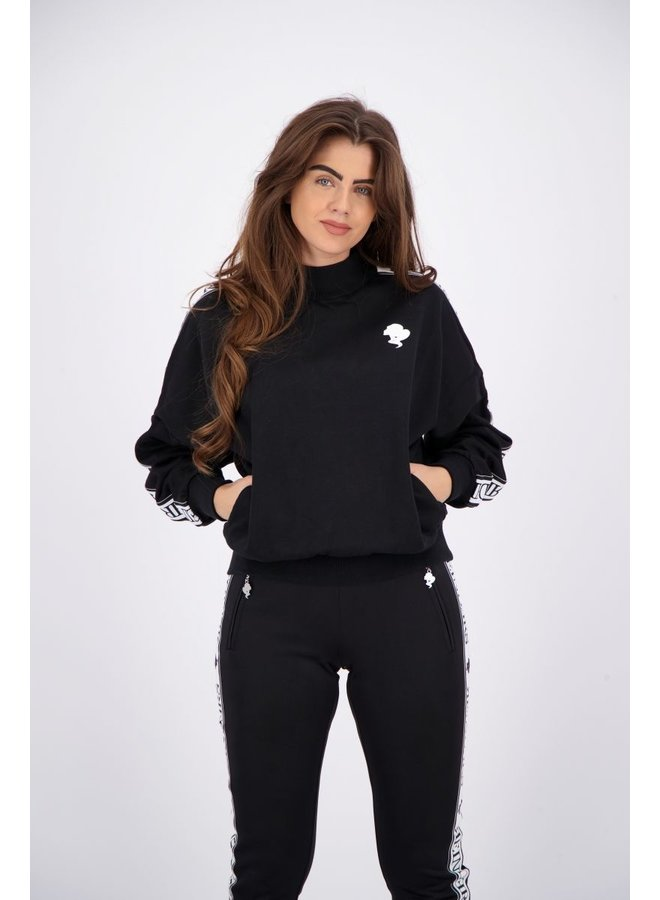 Tracking Sweater True Black