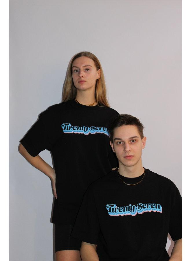 T-Shirt Negative Black