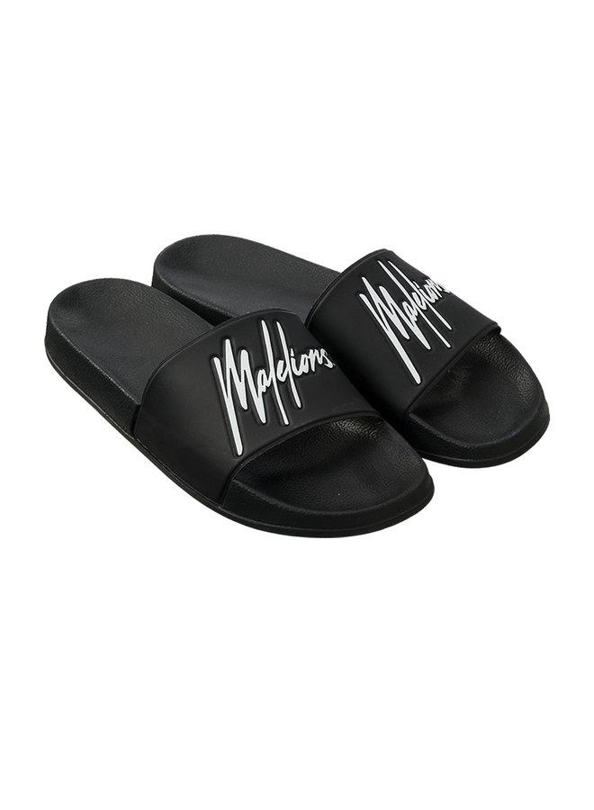 Malelions Slides Black