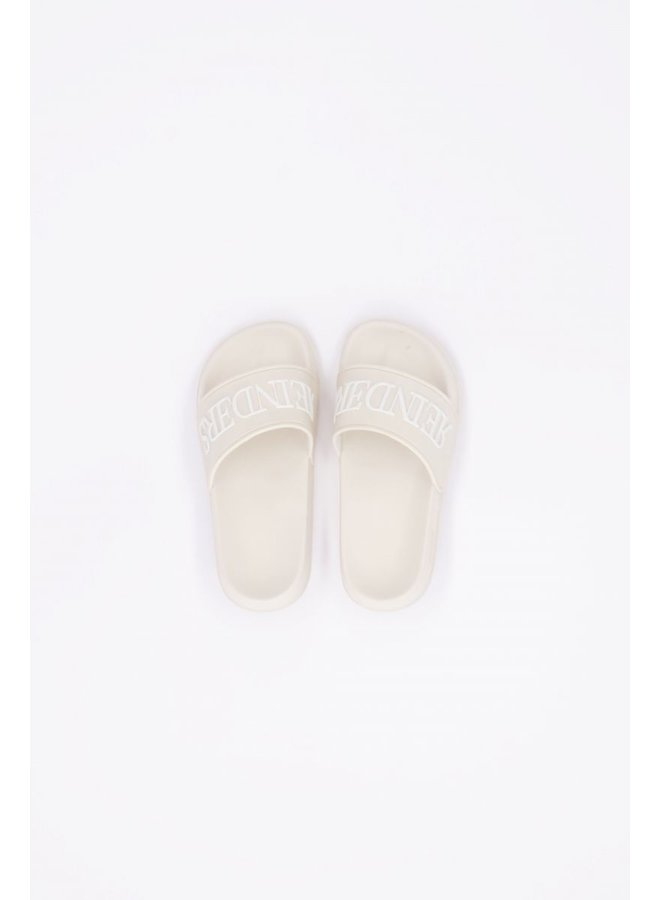 Slides Creme/White