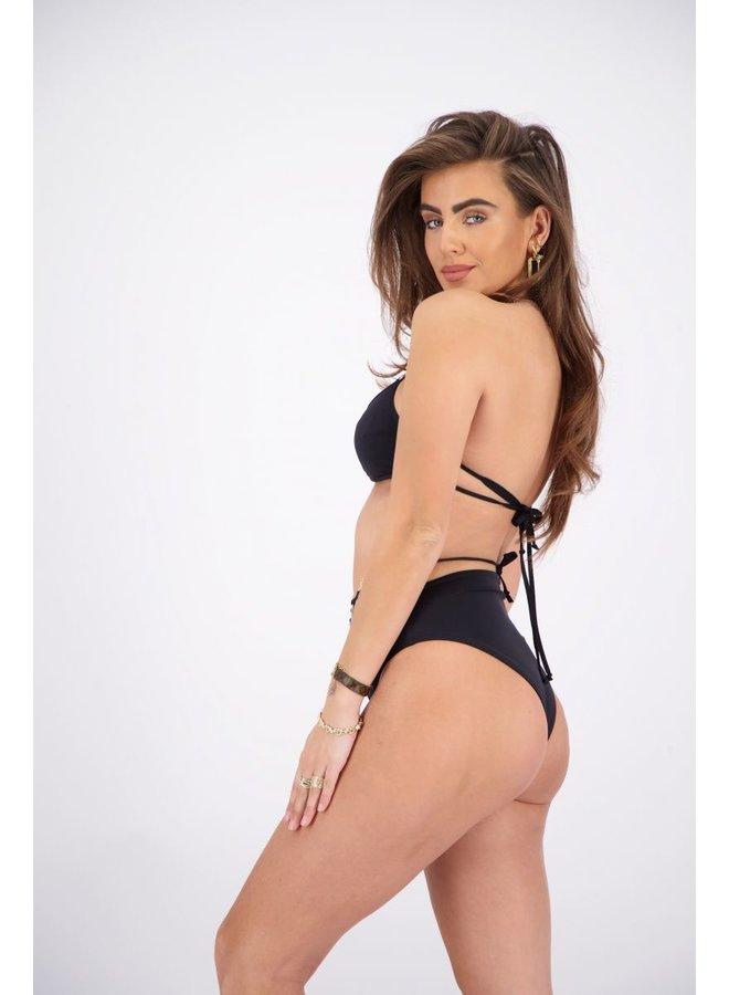 Cheeky Bikini True Black