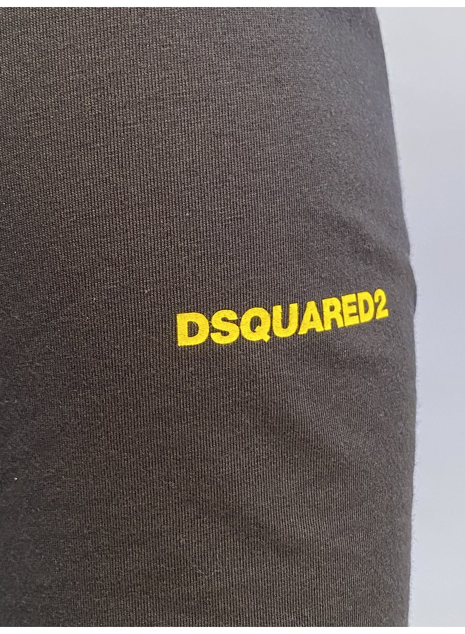 Longsleeve Basic Dsquared2 Black/yellow