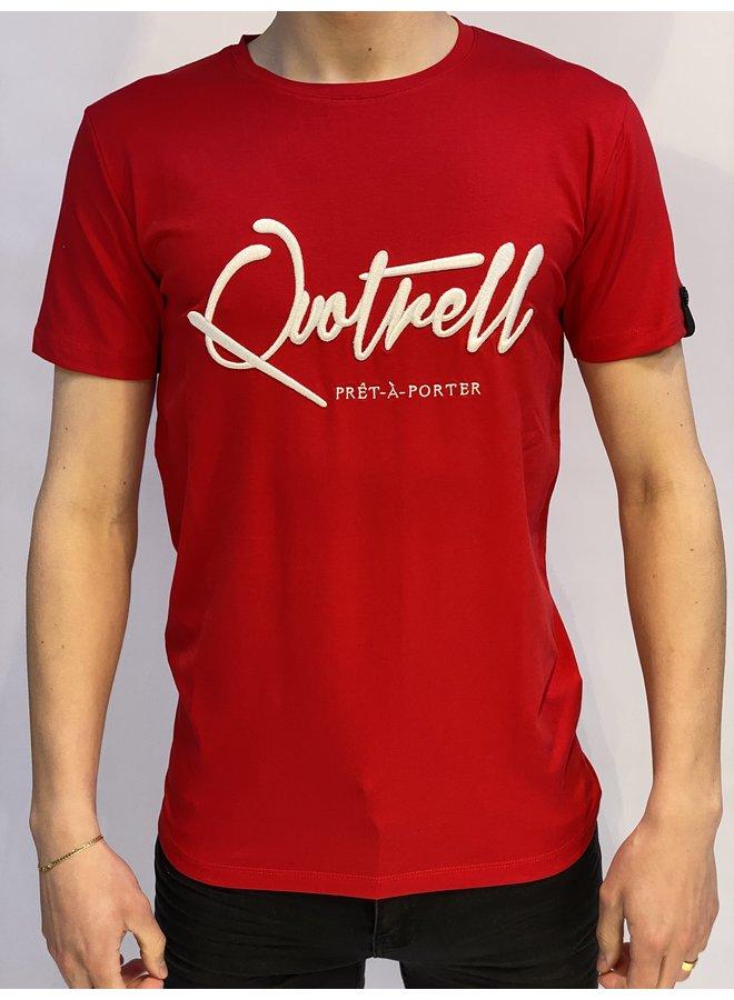 Signature T-shirt Red