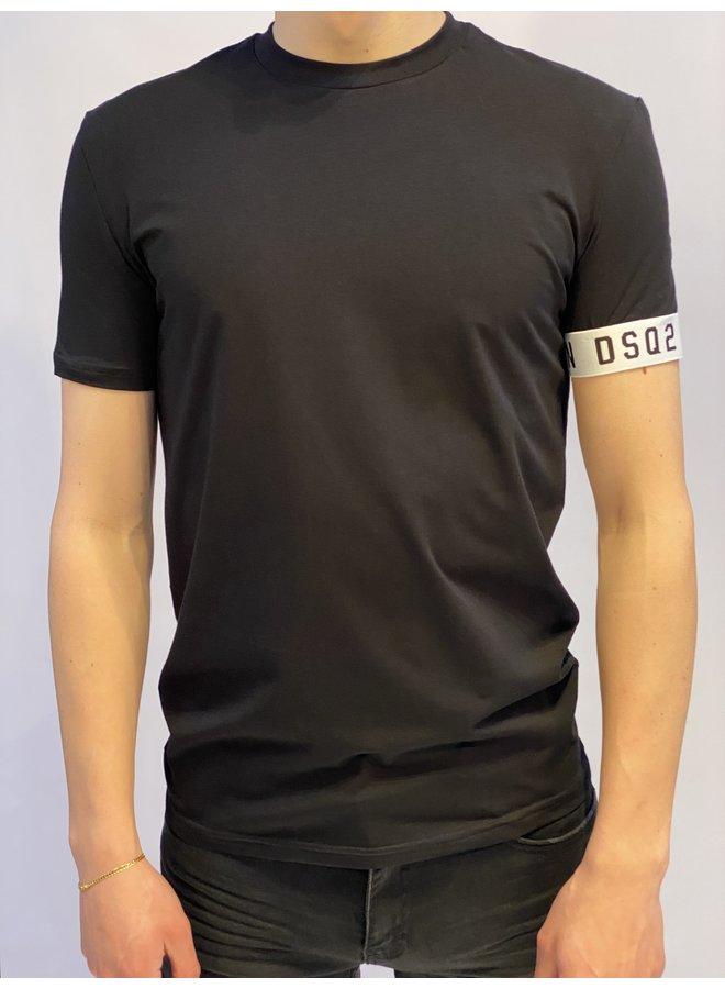 DSQ2 ICON T-Shirt Black/White