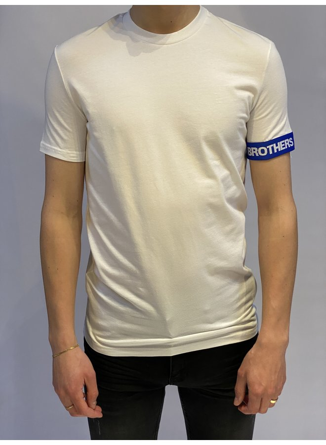 CANADIAN BROTHERS T-Shirt White/Blue