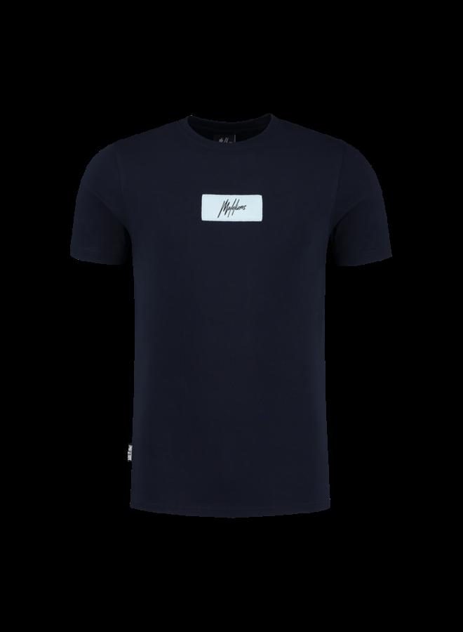 Jerra T-Shirt Navy/Light Blue