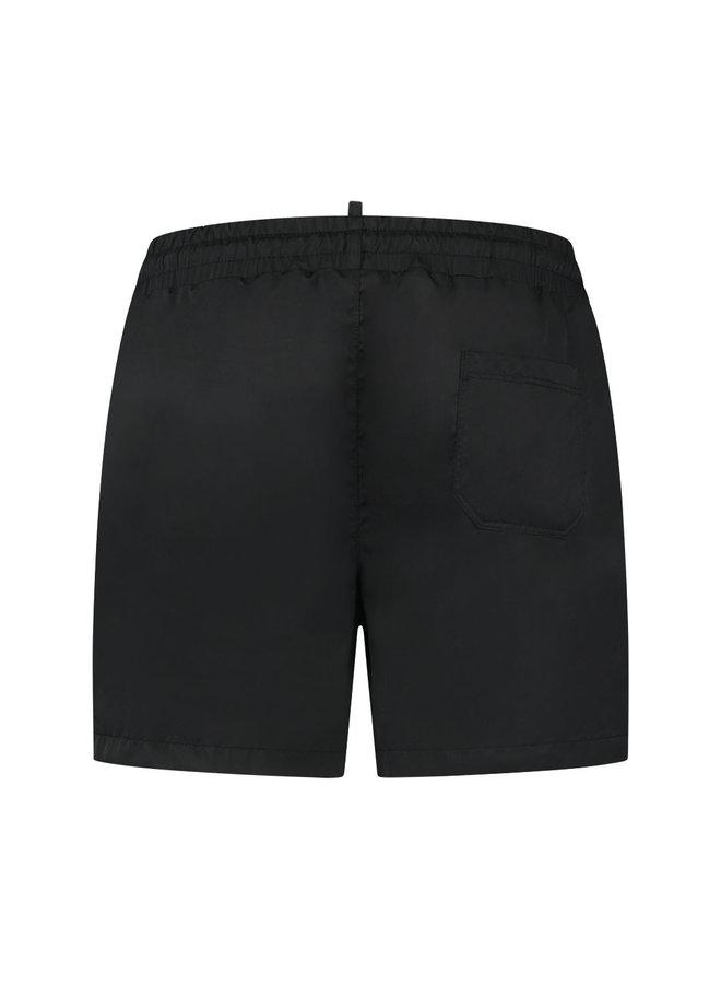 Nium Patch Swimshort True Black