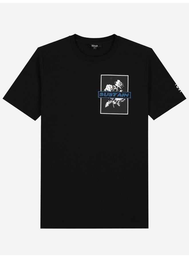 Roses Regular Shirt Black