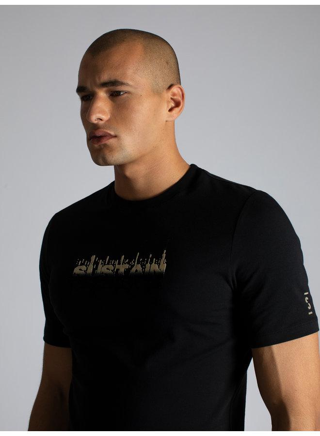 Degrade Logo Regular Shirt Black