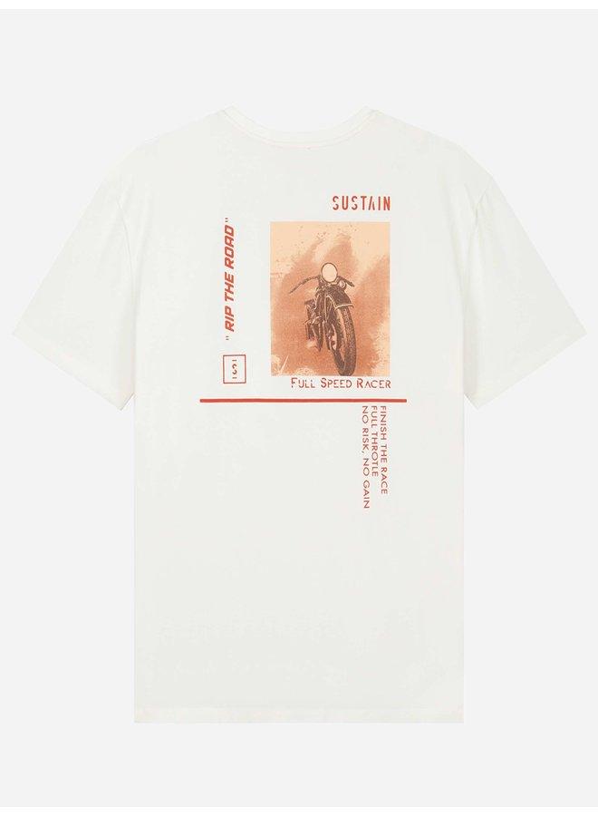 Full Speed Boxy Shirt White