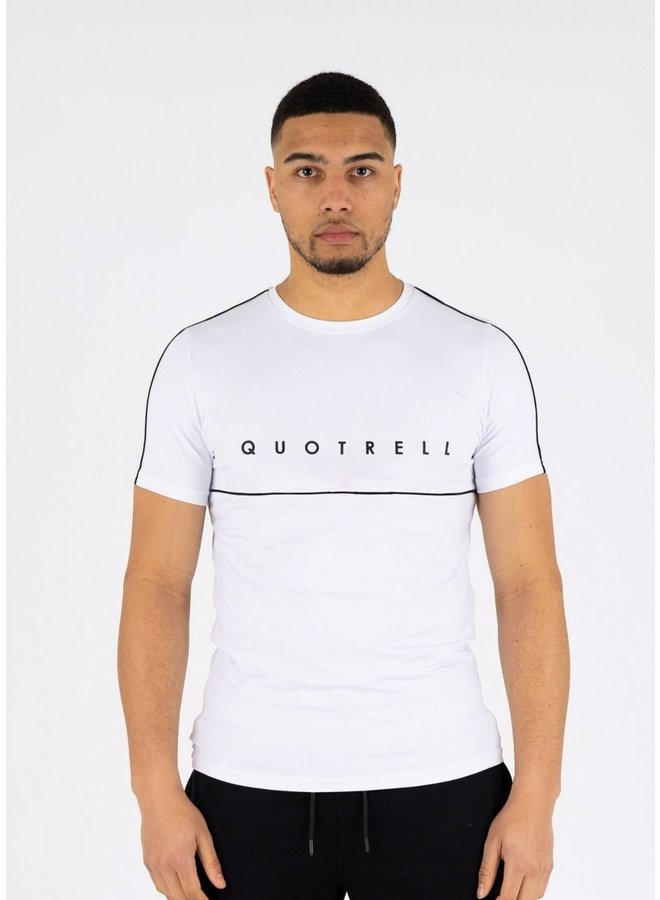 Basic Striped Shirt White