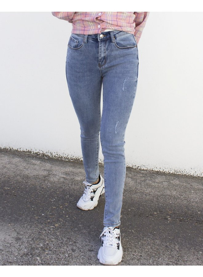 COCO SKINNY JEANS BLUE