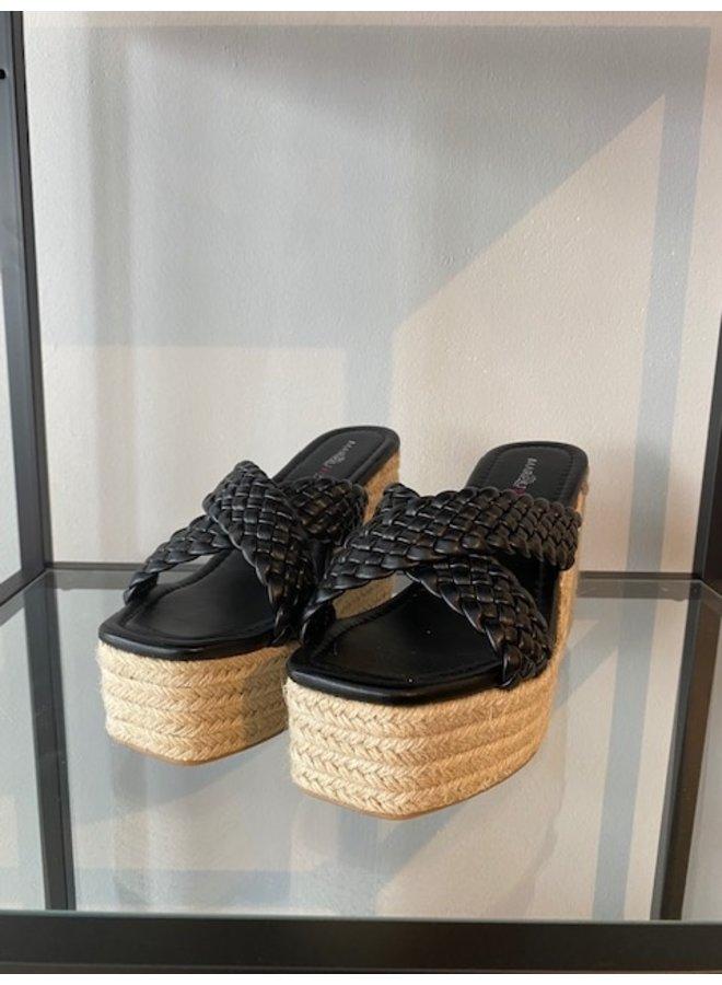 High Sandal Black