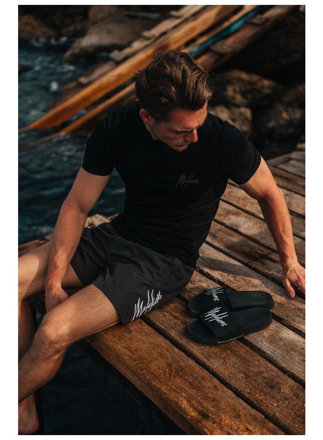Signature Puff T-Shirt Black/Antra
