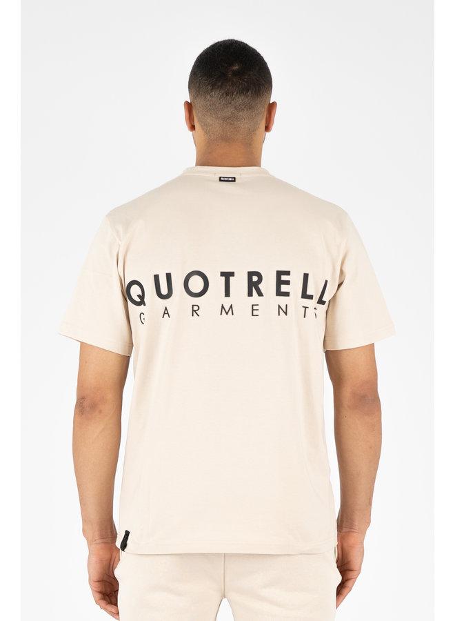 Fusa T-Shirt Beige