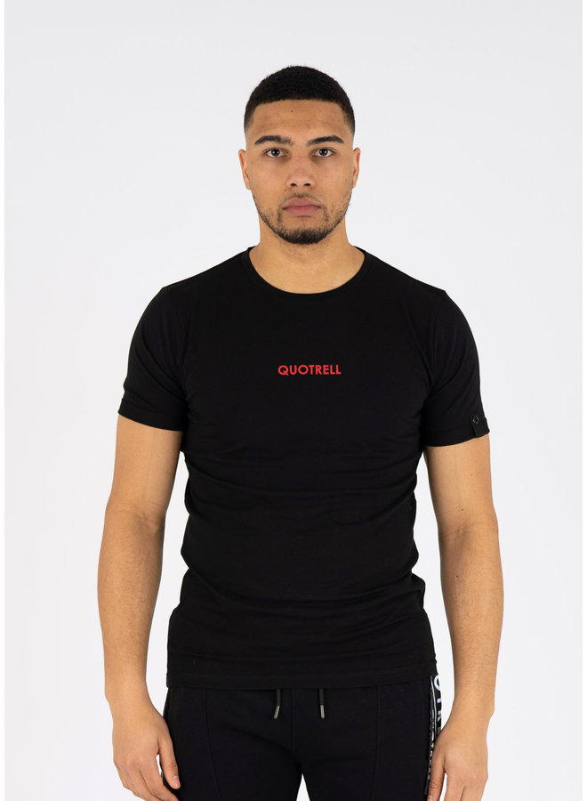 Wing T-shirt Black/Red