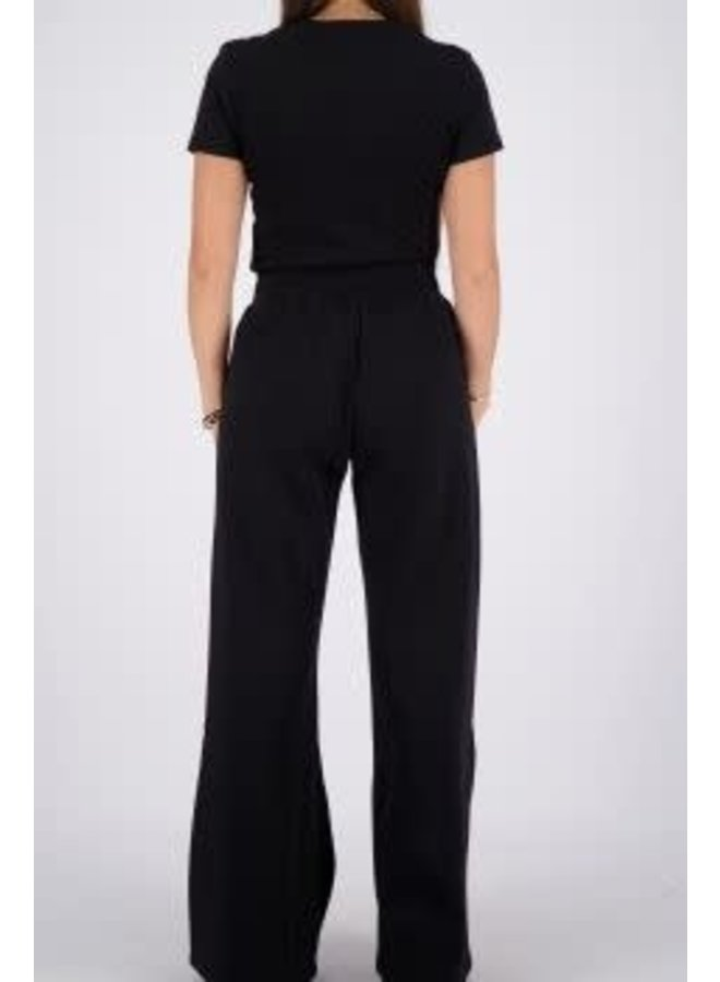 Livia T-Shirt Slim Fit True Black