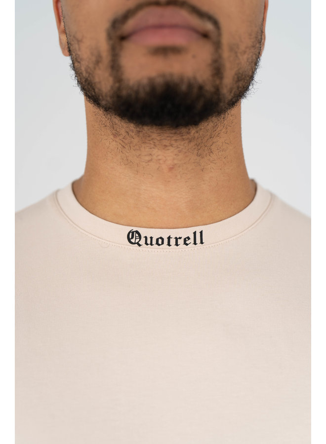 Miami T-shirt Beige