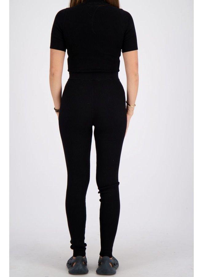 Livia Pants Knitwear True Black