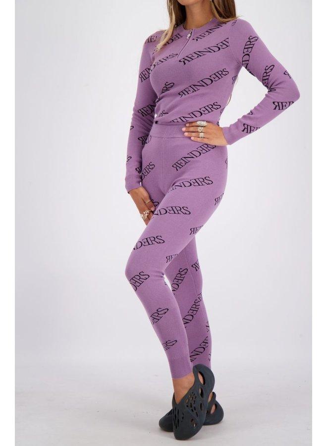Pants All Over Prints Grapeade