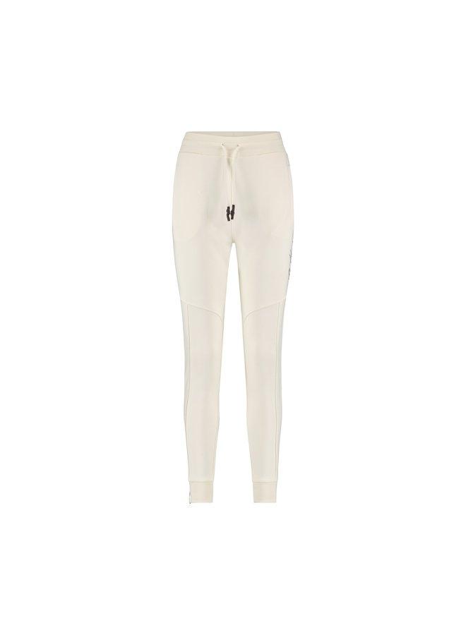 Malelions Women Multi Trackpants Off White