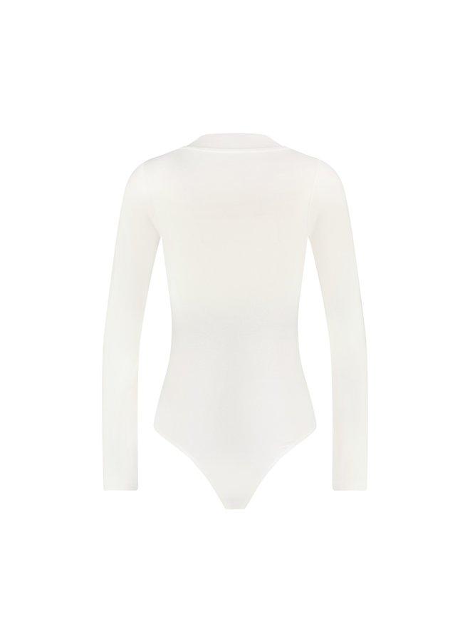 Malelions Women Bodysuit Off White