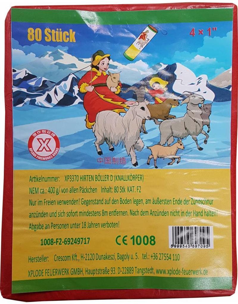 XPlode Old School Böller China D 20/4 / Retro