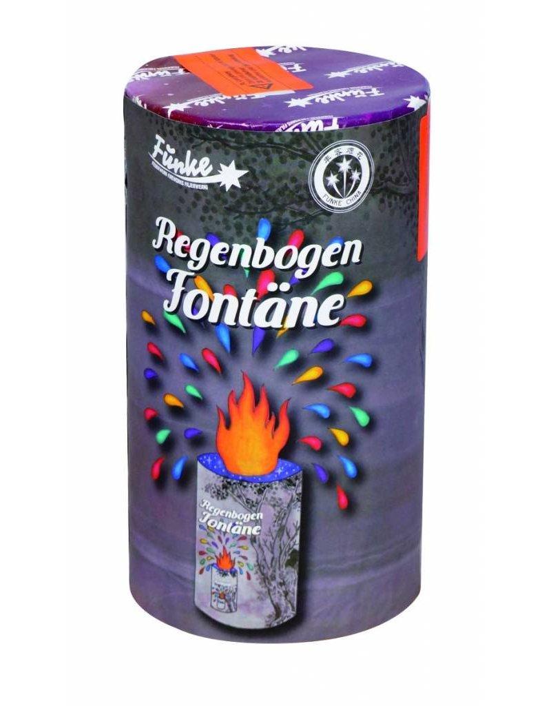 Funke Feuerwerk Regenbogen Fontäne von Funke