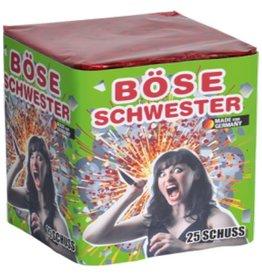 Lesli Feuerwerk Böse Schwester von Lesli