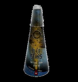 Zink Feuerwerk Schweizer Vulkan Blue Stars