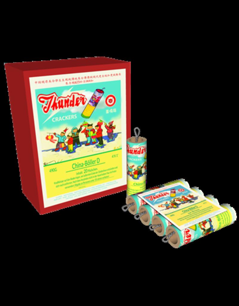 Katan Feuerwerk Oldschool Thunder Crackers Böller D 20/4er Schinken von Katan