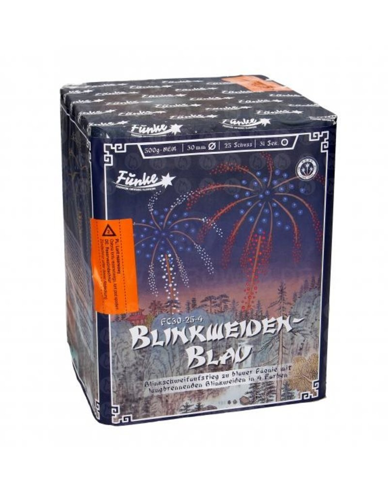 Funke Feuerwerk  Funke Blinkweiden- Blau