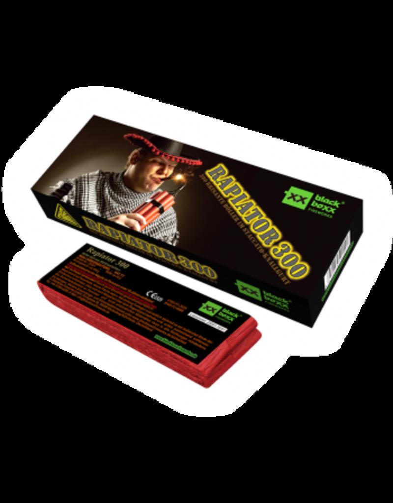 Blackboxx Fireworks Blackboxx Rapiator 300er Knallkette