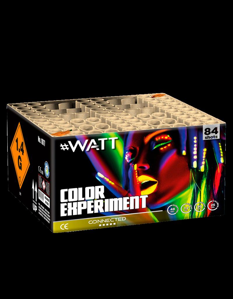 Vuurwerktotaal Color Experiment, 84-Schuss Verbund