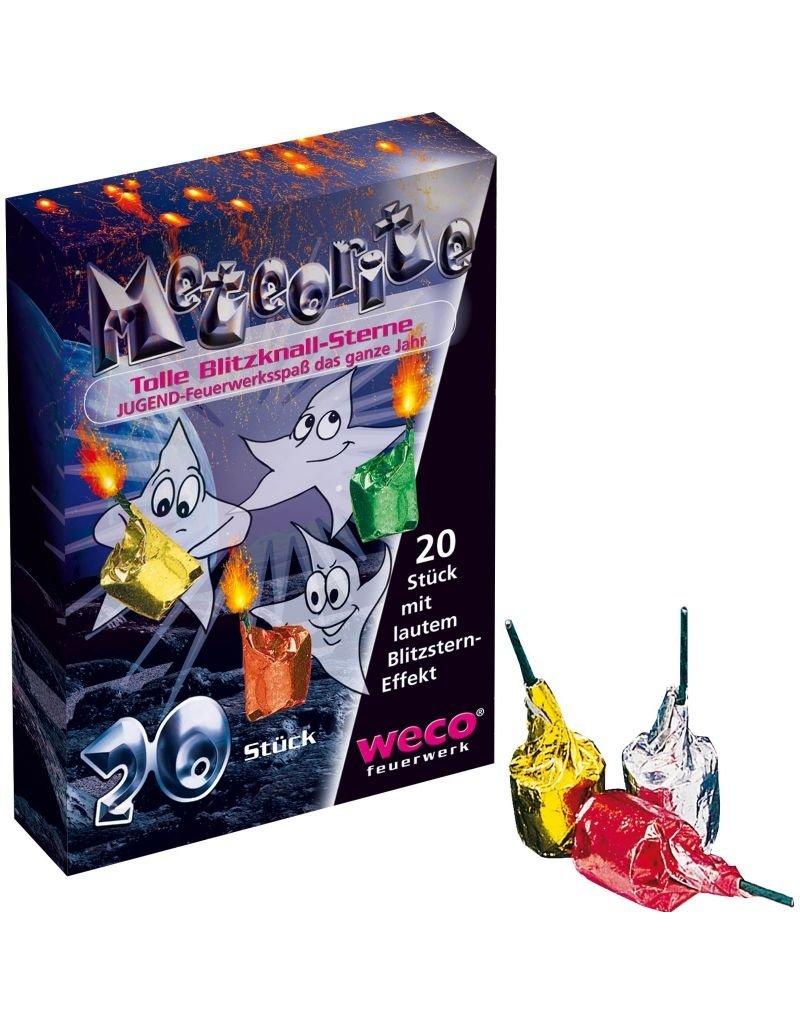 Weco Feuerwerk Meteorite, Blitzknall-Sterne, 20er Schachtel von Weco Feuerwerk