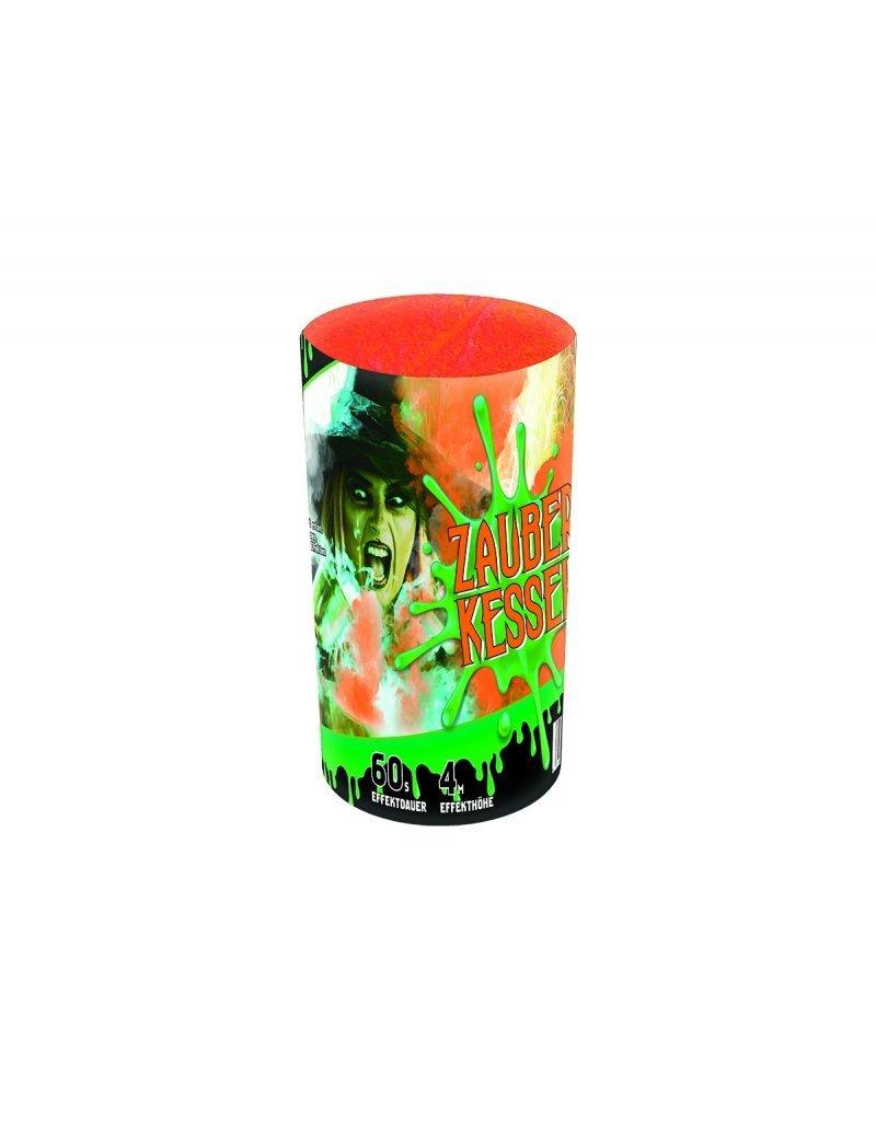Startrade Pyrotechnik Zauberkessel 3er-Fontänenbatterie von Startrade